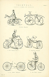 Постер Tricycle. Early Forms of Cycles
